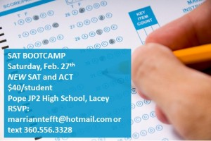 Bootcamp New SAT ACT 2016