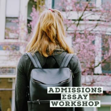 New College Essay Workshop set for September