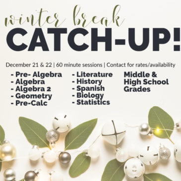 December Catch-Up Clinic