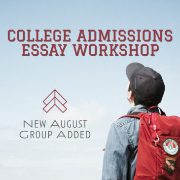 New Essay Writing Group Added for August